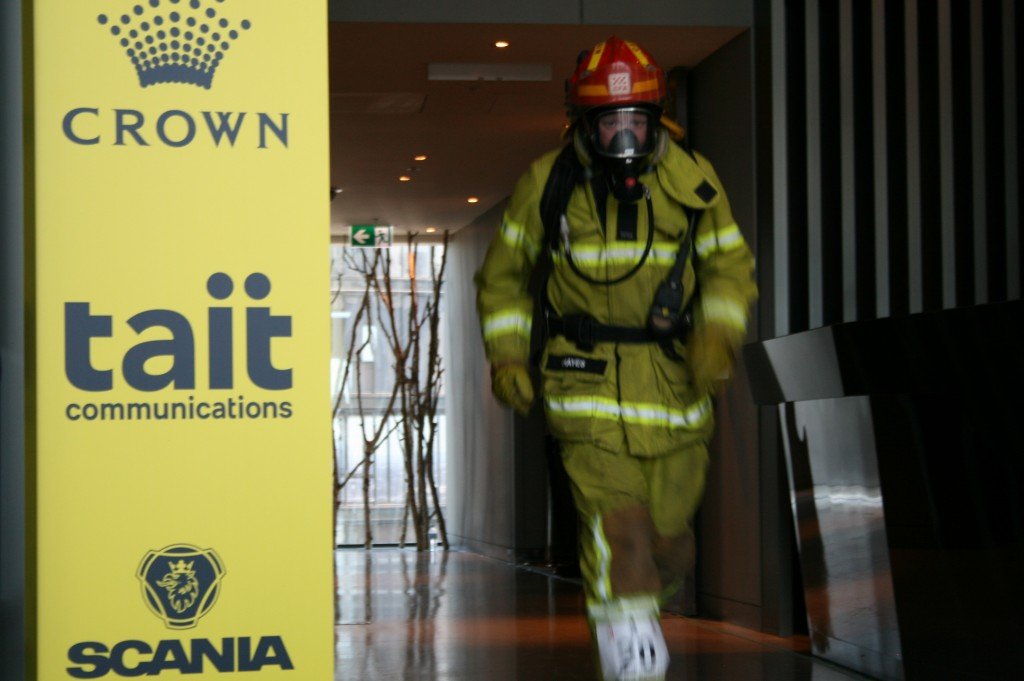 Paul Hayes Melbourne Firefighter Stair Climb