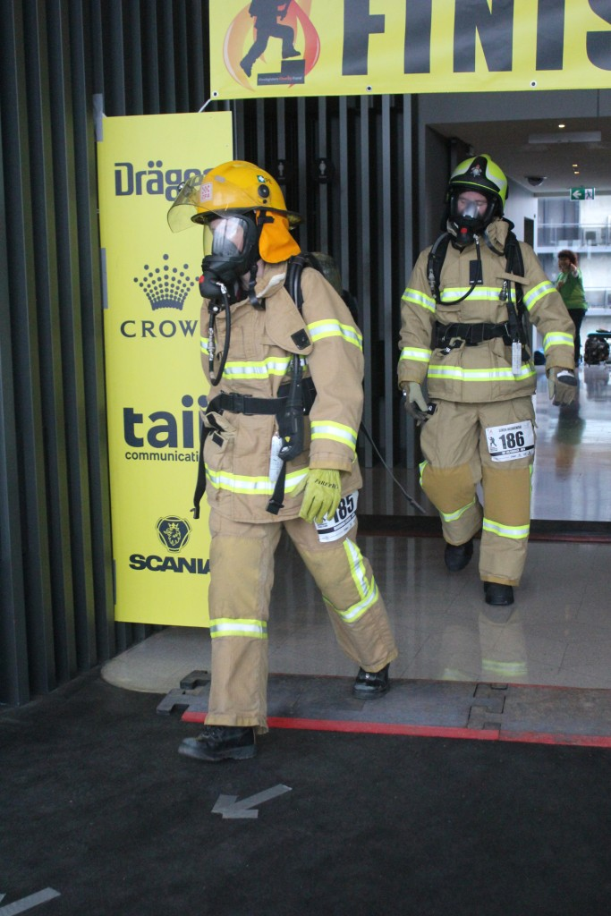 Fiona Macken Melbourne Firefighter Stair Climb