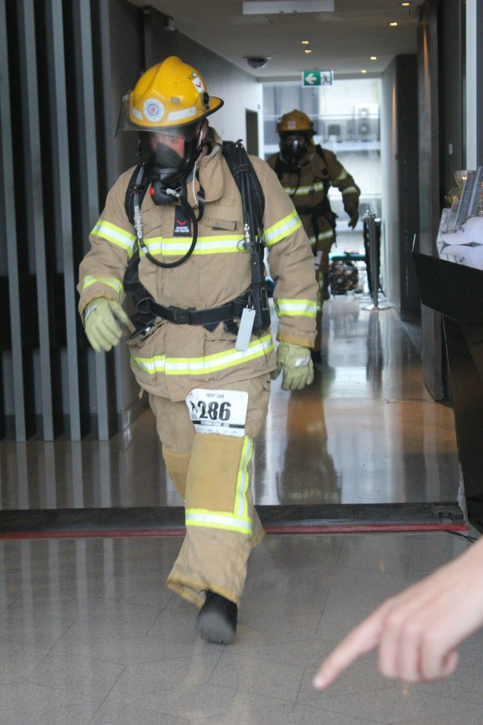 Trent Egan Melbourne Firefighter Stair Climb