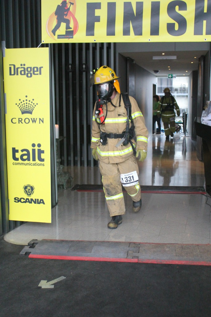 Luke Summerscales Melbourne Firefighter Stair Climb
