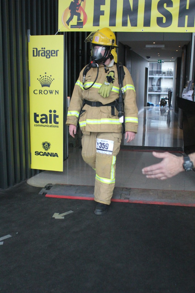 Harrison Steed Melbourne Firefighter Stair Climb