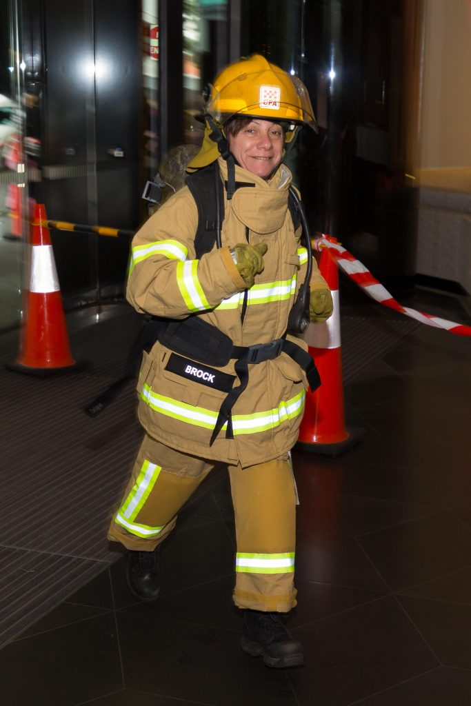 Tanya Brock Melbourne Firefighter Stair Climb
