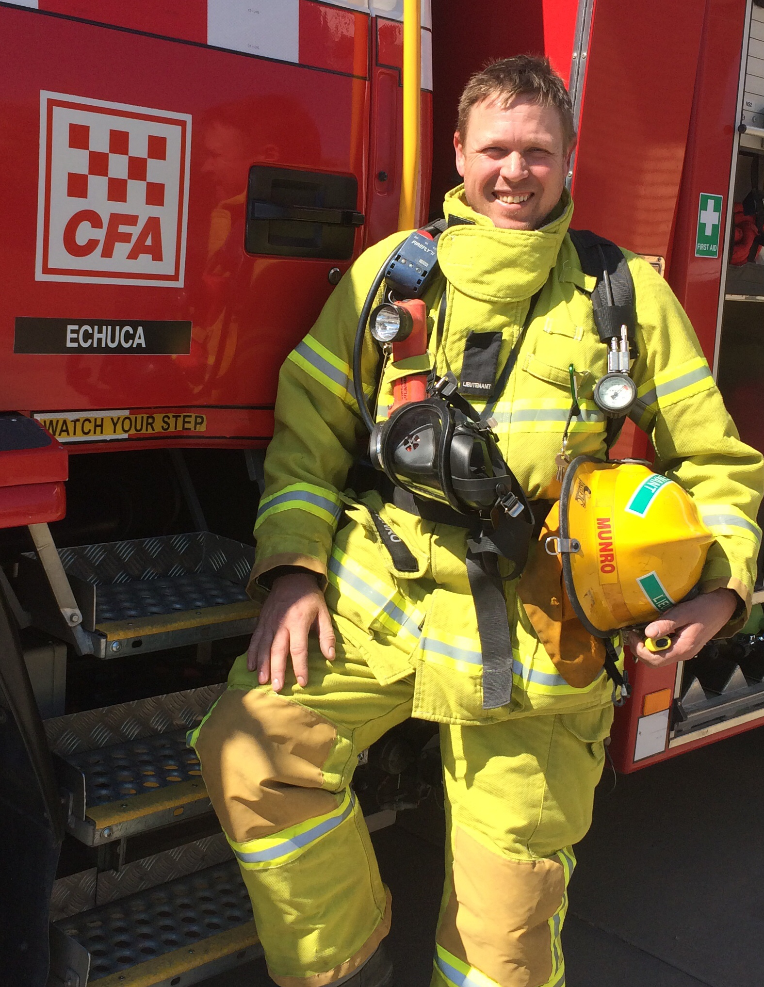 Col Munro Melbourne Firefighter Stair Climb