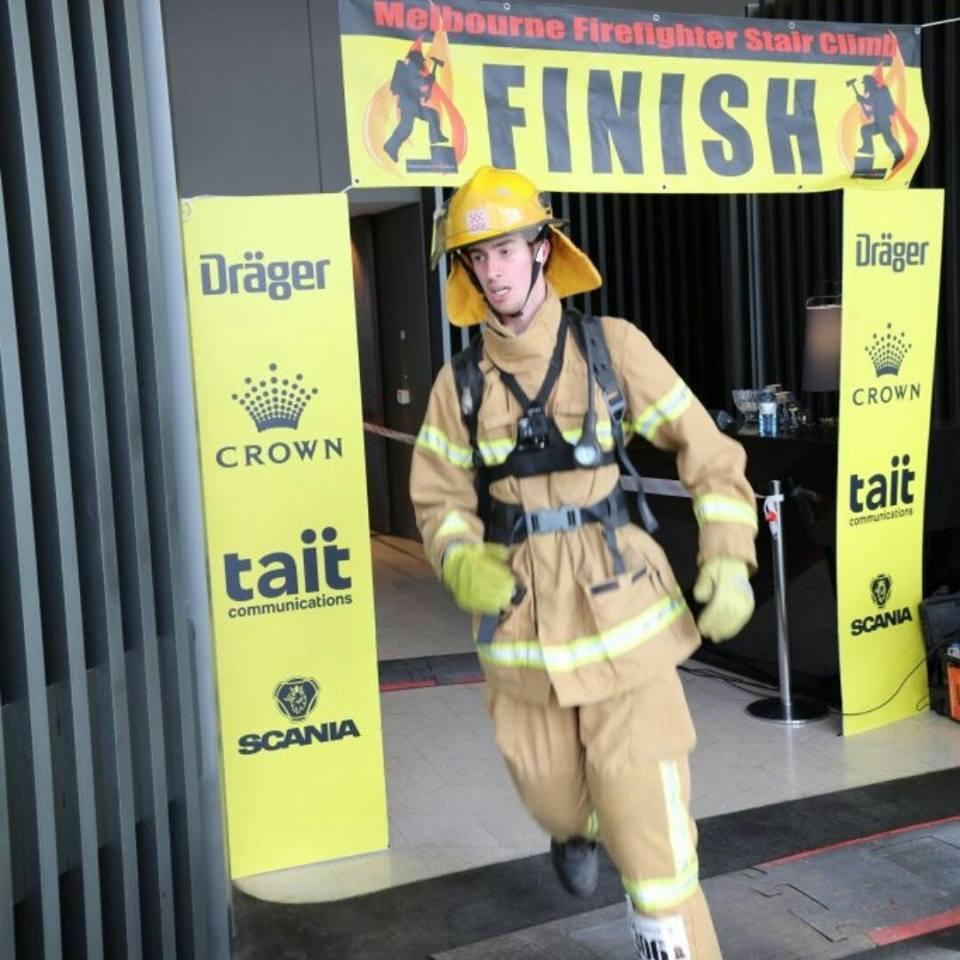 Aaron Faulkhead – Melbourne Firefighter Stair Climb